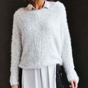 Ecote dolman fluffy sweater